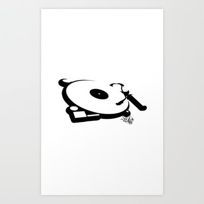 Deck Art Print by Vee Ladwa - $20.00