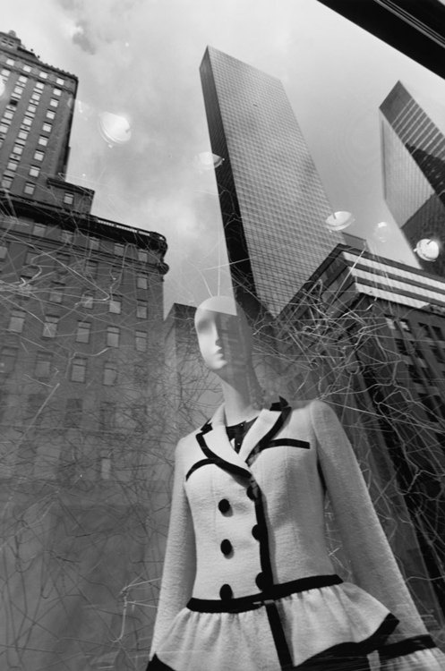 Lee Friedlander - New York City, 2011.