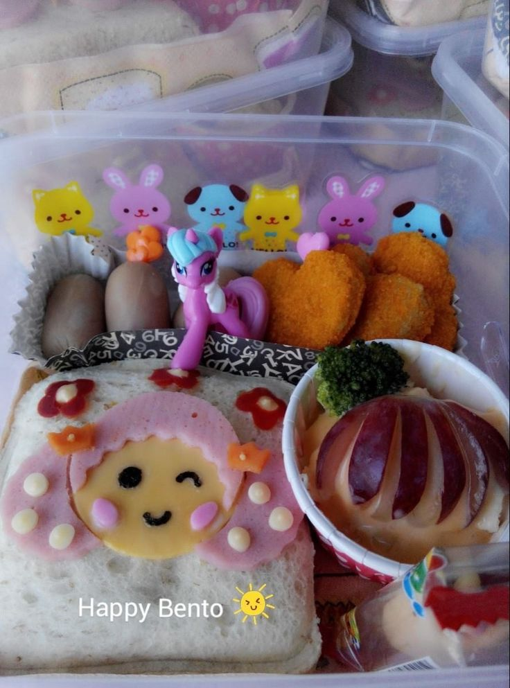 Party bento for birthday girl