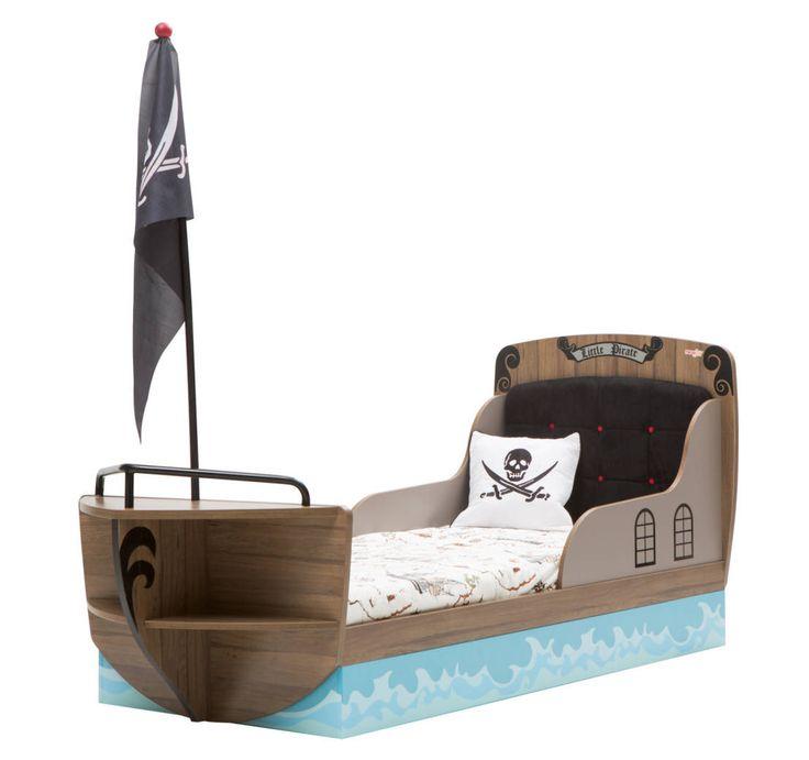 Cama pirata - para um pequeno capitão! https://www.homify.com.br/livros_de_ideias/40921/diversao-ideias-para-camas-infantis