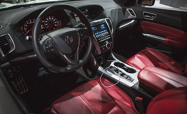 2018 Acura TLX Inside The Cabin
