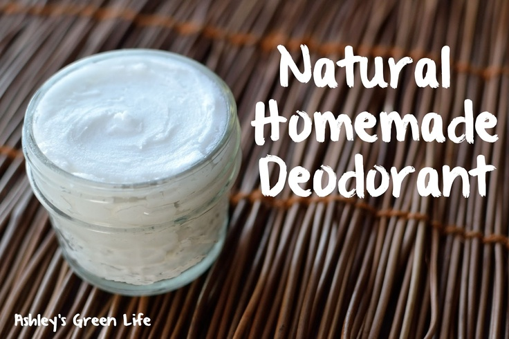 Ashleys Green Life: How to Make Your Own Deodorant (3 ingredients!)