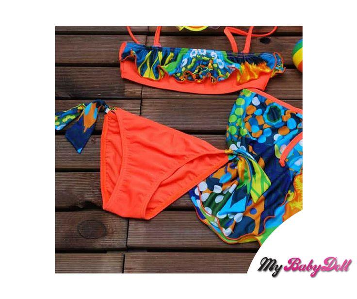 Παιδικό Μαγιώ Bikini – Aquamania By Crool  Δείτε εδώ > http://mybabydoll.gr/shop/girl/paidiko-magio-bikini-aquamania-by-crool-a05-623/  Παιδικό μαγιώ bikini μπουστάκι μαζί με παρεό της ελληνικής εταιρείας Crool. Ένα μαγιώ που θα λατρέψουν οι μικρές μας φίλες αλλά και οι γονείς με την άριστη ποιότητα του. Στεγνώνει εύκολα μετά την έξοδο από την θάλασσα.