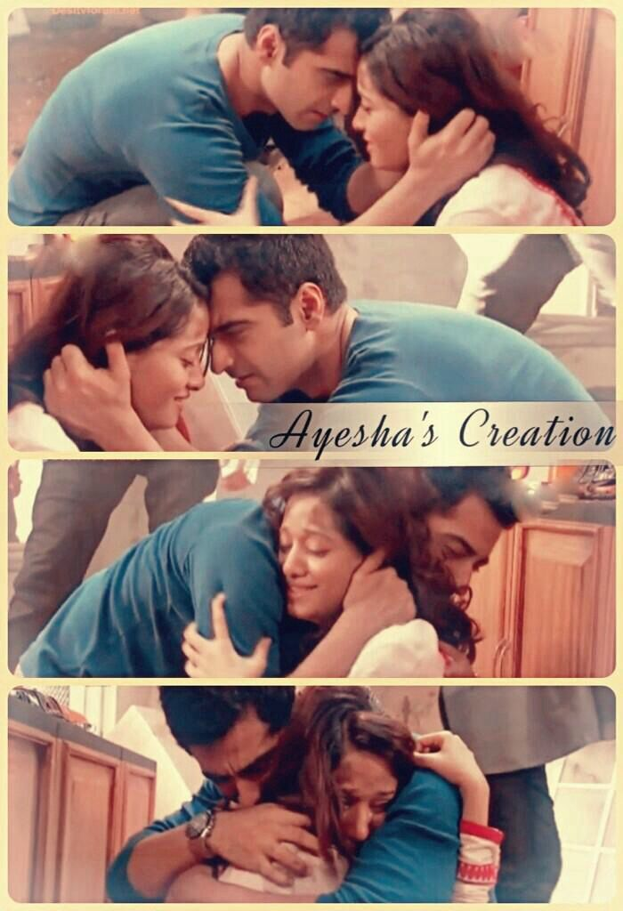 Zain saves Aaliya after the accident in the kitchen 35 #Beintehaa