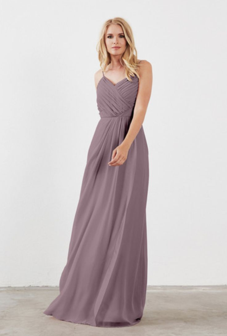 Weddington Way Camille in Wisteria -- Bridesmaid dress color