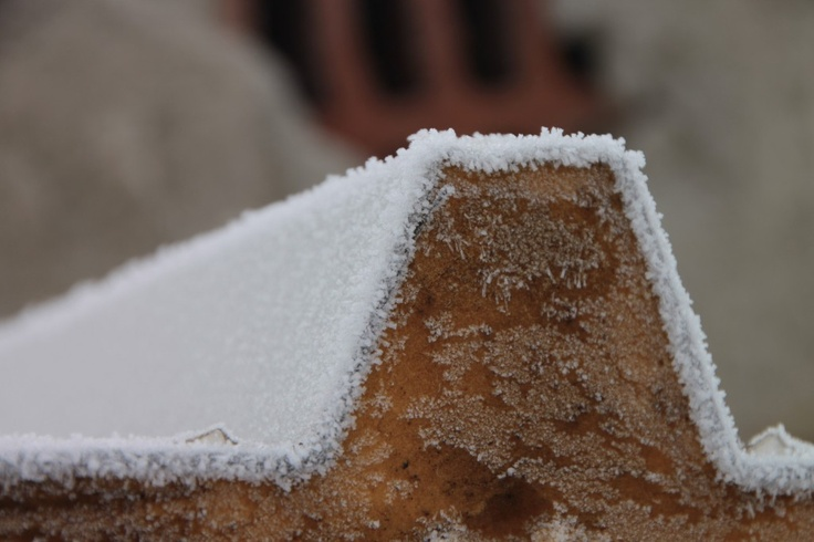 Rime Ice Crystals, Winter