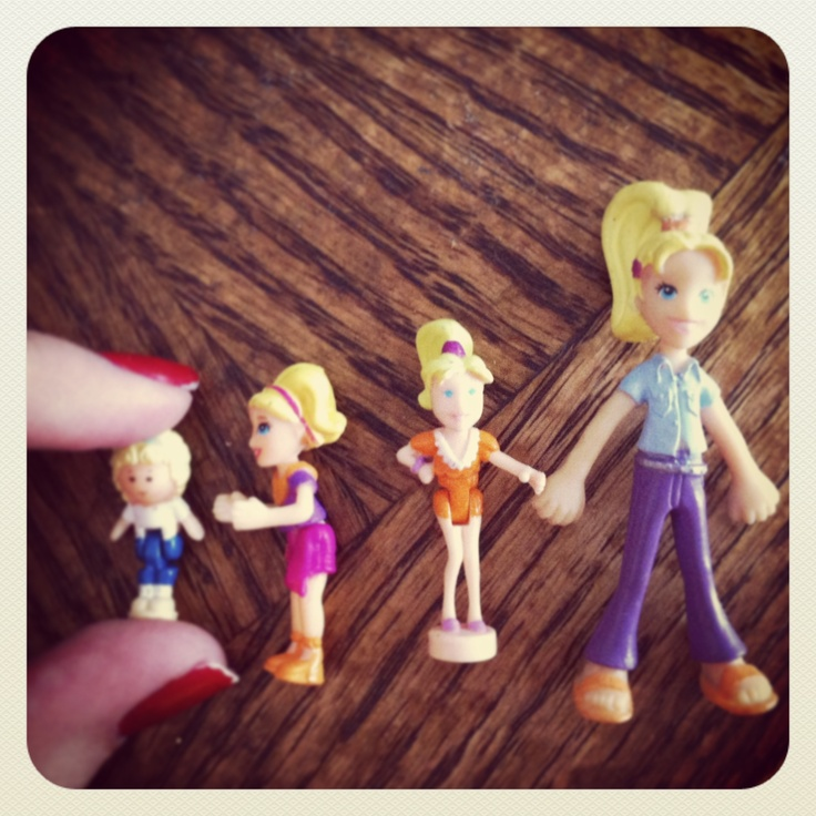 The evolution of Polly Pocket (With images) Polly pocket