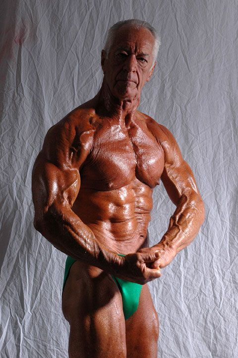 67 year old, Chet Yorton, 100% Natural, Steroid Free
