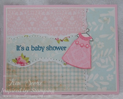 Paper Punch Addiction: Inspired by Stamping Sneak Peek: Crafts Ideas, Punch Addiction, Books Cards, Handmade Cards, Scrap Books, Paper Punch, Paper Cards, Baby Shower, Cardmaking Endless Inspiration