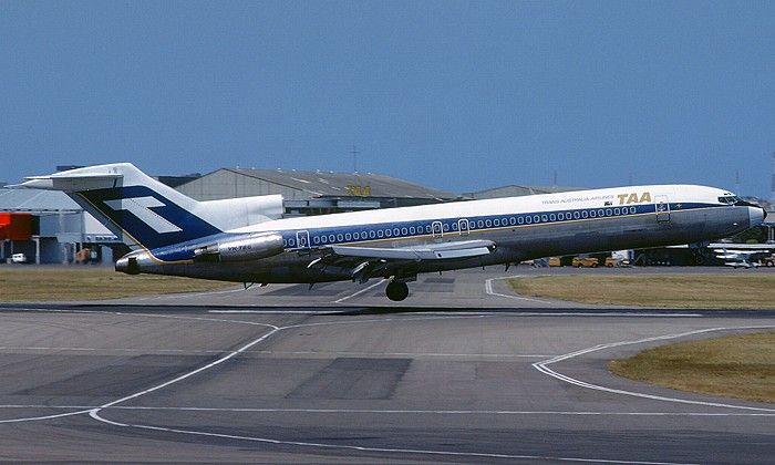 Trans Australia Airlines Boeing 727-276 (VH-TBG)