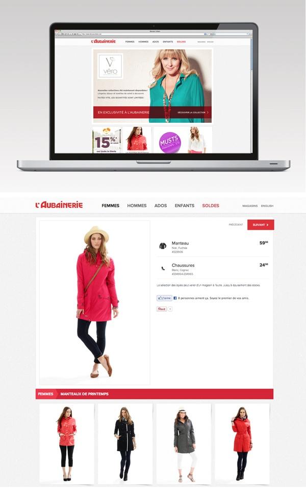 Client: L'Aubainerie Concept Mode