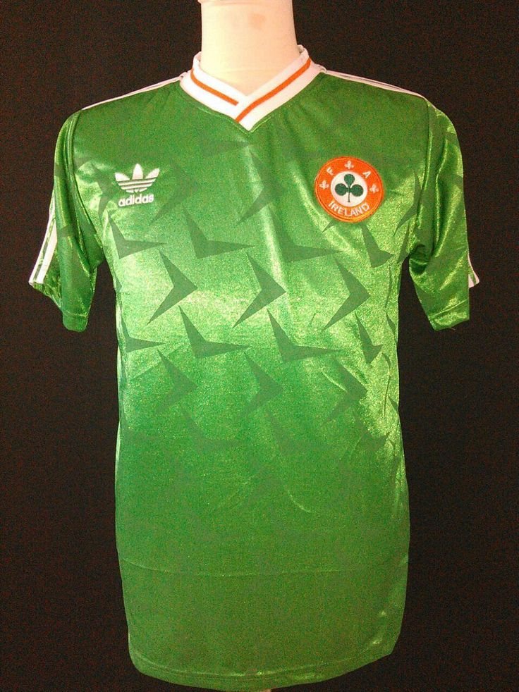1990-1992 Republic of Ireland Home Shirt