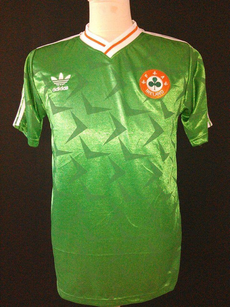 1990-1992 Republic of Ireland Home Shirt