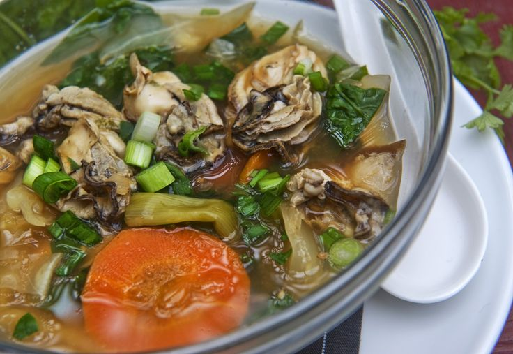 how to make oyster soup
