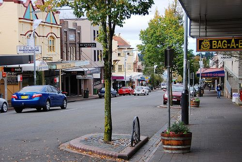 Katoomba, NSW, Australia | Went here today for a day trip with a group of Sydney-siders and I love it <3