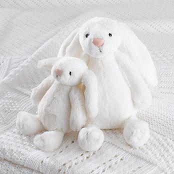 Jellycat Bashful Bunny - Medium White | The White Company Exclusive