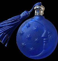 Cobalt Blue Moon Perfume Bottle
