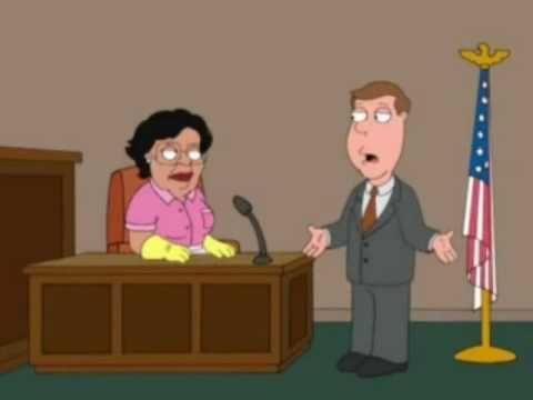 Consuela Family Guy We Need More Lemon Pledge - YouTube