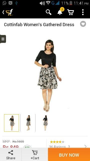 This dress for nidhi..happy birthday...:-P;-)