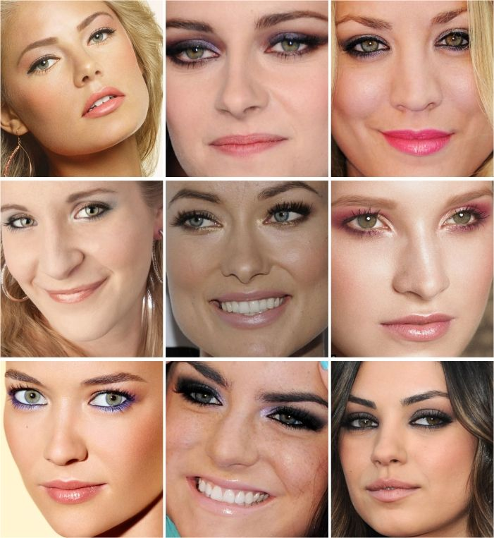 ideas of makeup for green eyes (portuguese)