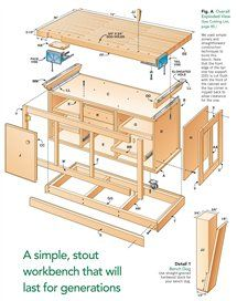 AW Extra - Dream Workbench - Woodworking Projects - American Woodworker