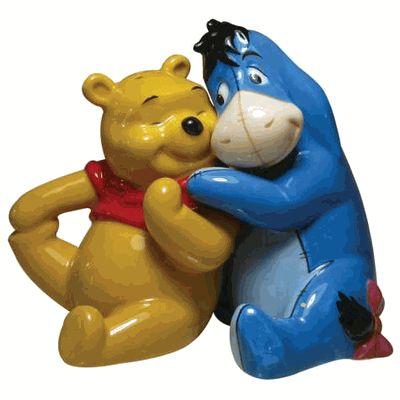 Friends Forever Pooh & Eeyore #saltandpeppershakers