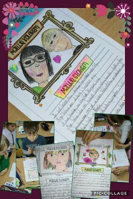 W naszej OGRODOWEJ klasie.: Maluję kolorem, maluję słowem.