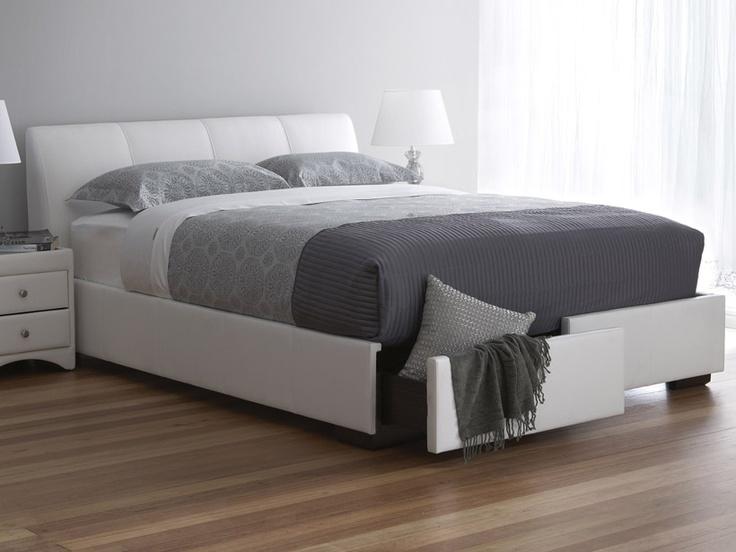 1000 ideas about queen bed frames on pinterest bed frames bed drawers and grey bed frame. Black Bedroom Furniture Sets. Home Design Ideas