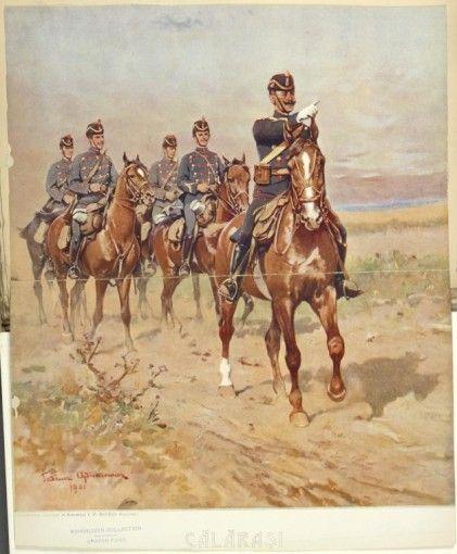 Călăraşi în ţinute model 1895