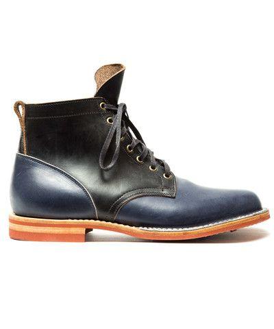 Skagway Leather-trimmed Wool-tweed Sneakers - BlackVisvim byR26F