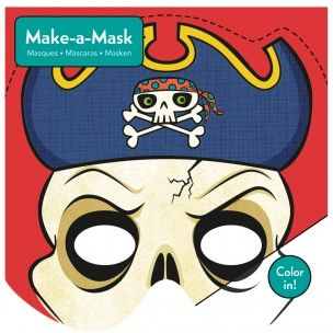 Mudpuppy Make-a-Mask Pirates Kit