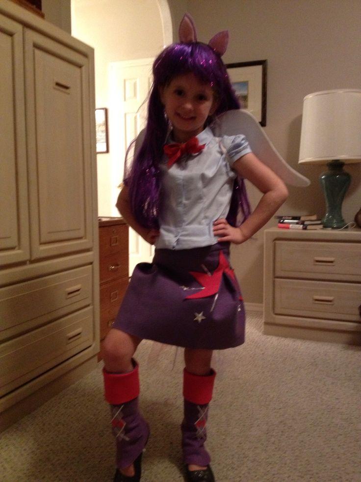 Twilight sparkle equestria girl costume pony birthday pinterest twilight girl costumes - Costume halloween fille ...