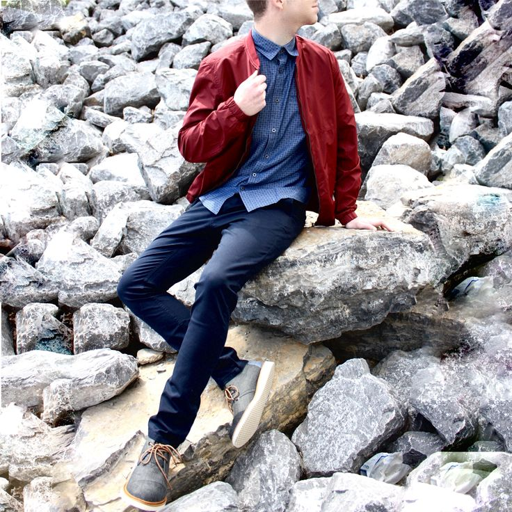 Dressing well is just good manners.  #manners #outfits #jacket #outdoors #model #fashion #shoes #look #new #springfashion  Shop this look at www.kixs.ca