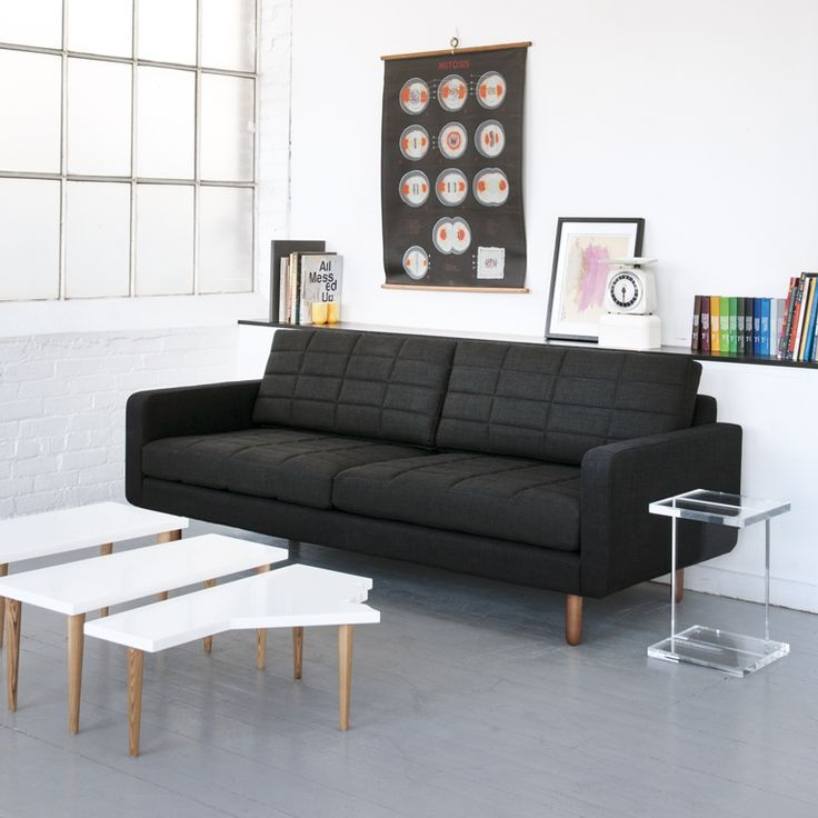 new modern furniture design. gus modern the switch sofa has a split personality quilted seat and new furniture design