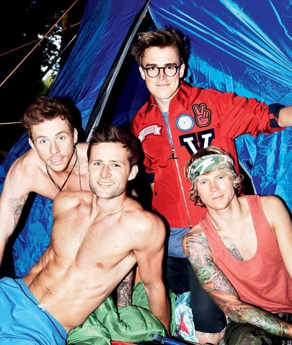 The guys in the newest issue of Attitude - Twitter / Team_Judd_McFly