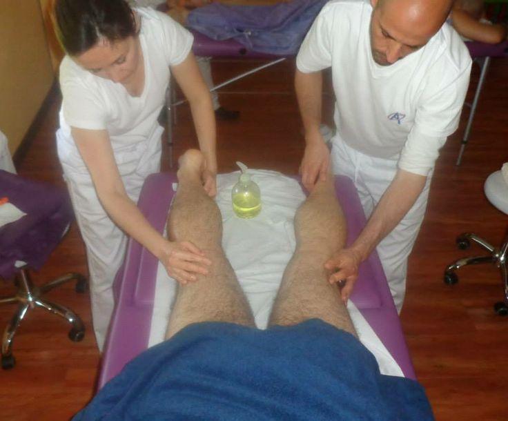 Il mio primo massaggio a 4 mani con Miky....
