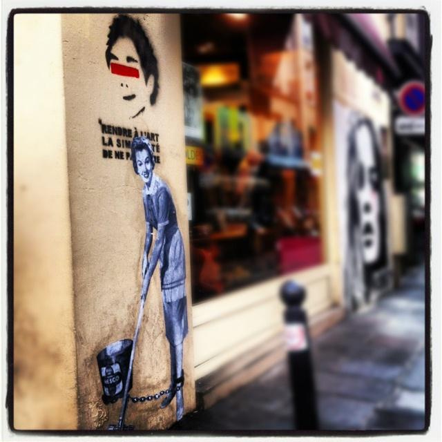 Rue de Seine - Paris. ©RR
