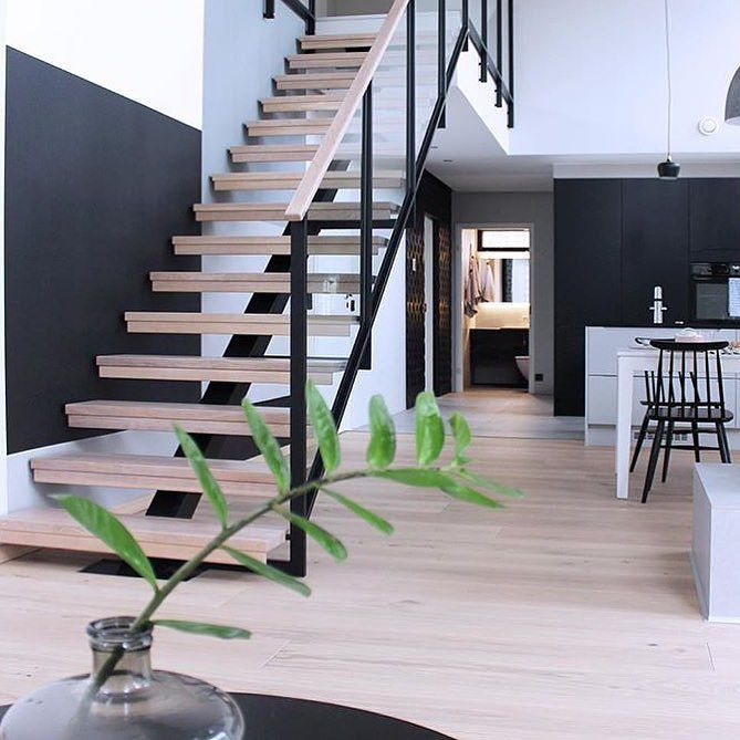 Stair Design - Open stairs or closed what's your favourite?  Creating openess…