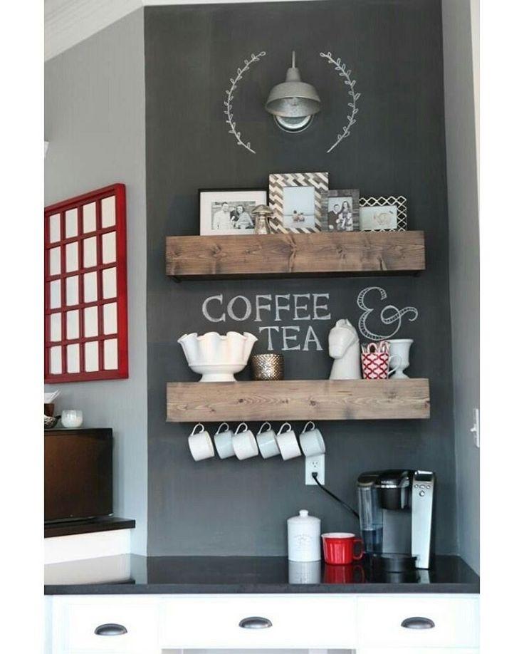 """""""Bom dia! Quem ama começar o dia com um cafezinho?☕️#decoraçãopravocê"""""""