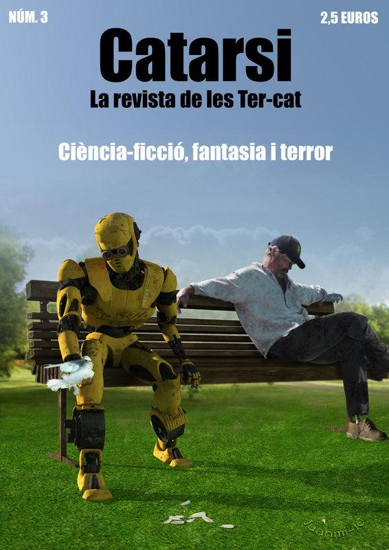 #REVISTA #TERROR #SC-IFI - Portada de Revista Catarsi 3. CATARSI Número9 by Catarsi. La revista Catarsi és una revista de ciència-ficció, fantasia i terror en llengua catalana, la més antiga de les que hi ha actualment al mercat (si més no, que coneguem nosaltres).   CAMPAÑA: www.verkami.com/projects/2048