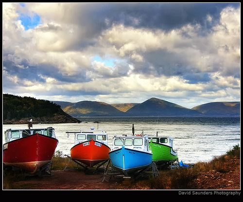 Cape Breton fishing boats by Dave the Haligonian, via Flickr