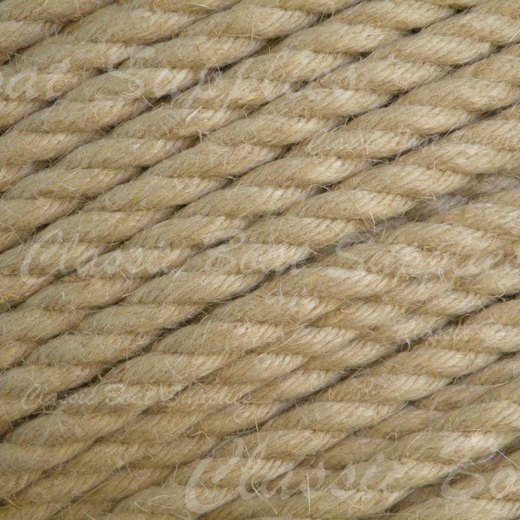 Classic Boat Supplies - Natural Hemp Rope (per metre), $0.72 (http://shop.classic-boat-supplies.com.au/traditional-ropes/natural-hemp-rope-3/)