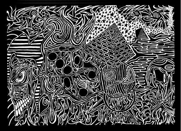 9x12 Ink Matthew Collins