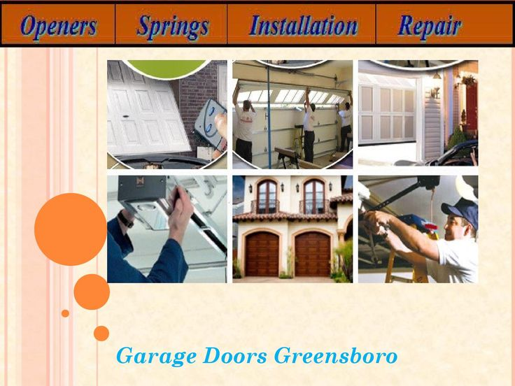 Broken Garage Door Spring Repair  Ensure the respectability of your door and the security of your home by actualizing a normal support arrangement. Contact garage door spring repair Greensboro for help with all your upkeep needs and in addition garage door spring repair.