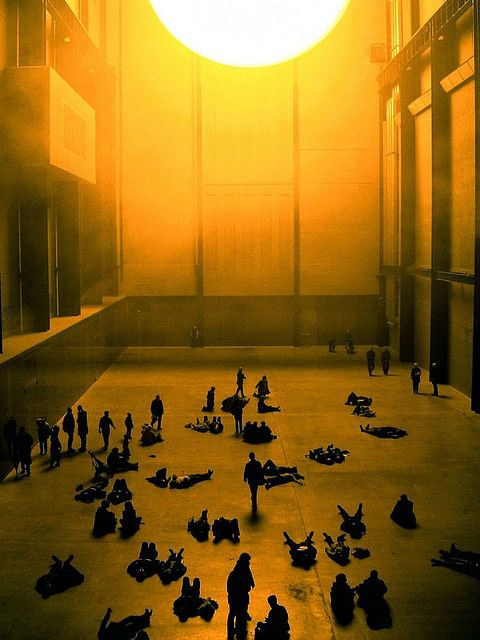 The Sun  The Tate Gallery 2003 - one of my all time favourite art pieces from my student days