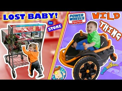 WE LOST OUR BABY while CHRISTMAS SHOPPING! Tickle Torture + POWER WHEELS Wild Thing (FUNnel Vision) - YouTube