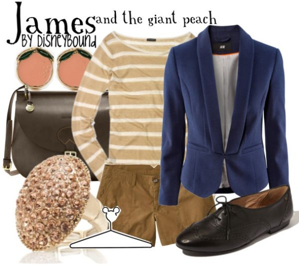 James and the giant peach, like this outfit better than the other one