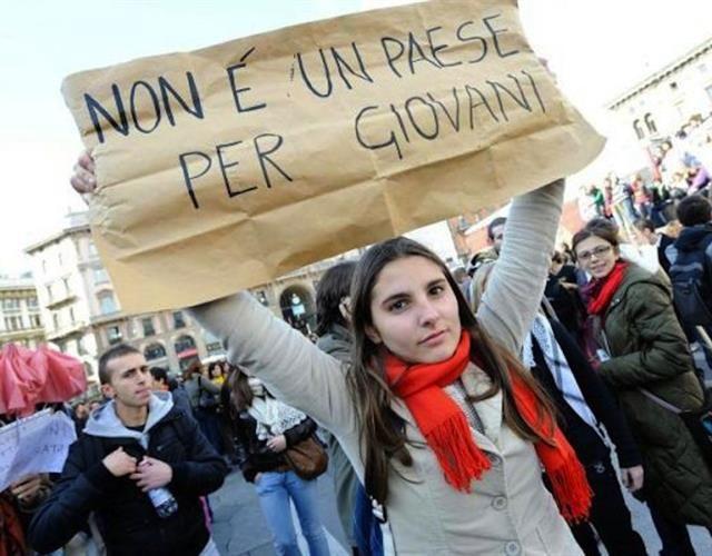 Stracone pokolenie - Ratunku, Italia