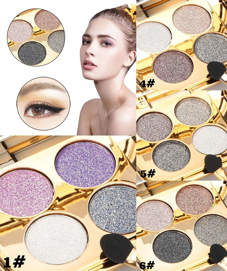 [Visit to Buy] Professional Glitter Eyeshadow Palette Makeup Matte Smoky Naked Makeup Brand Colorful Cosmetic Shining Eye Shadow #Advertisement
