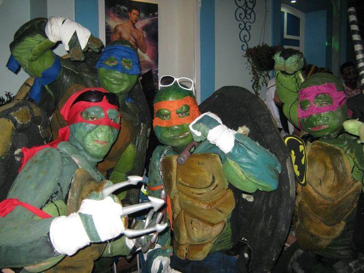 Tortugas Ninjas.